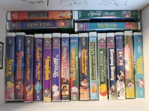 Disney VHS Movie Collection - 46 Movies