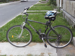 Bike (7-speed) for Sale: including helmet & locker