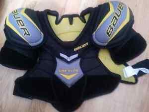 Junior hockey gear!