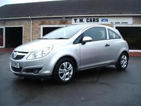 2011 Vauxhall/Opel Corsa 1.2i Energy 3d **38,000 miles / NEW MOT**