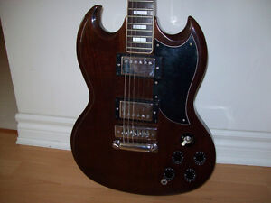 EL  DEGAS  ELECTRIC  GUITAR  (  VINTAGE  --  JAPAN  )