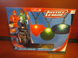 Justice League Christmas Lights ( NEW )