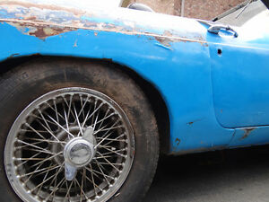 72 MGB - Running, Needs Cosmetic Bodywork