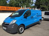 2010 60 VAUXHALL VIVARO 2.0 CDTi 115ps 2900KG LWB VAN 1 OWNER ONLY 42K FSH BLUE
