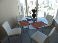 Furnished 1BR+den apartment plus parking in Yaletown