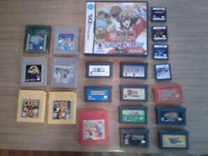 USED GAMEBOY, GB ADVANCE, DS GAMES AND ACCESSORIES FOR CHEAP $$$