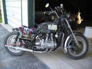 Goldwing project bike