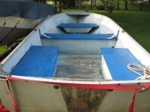 princecraft fishing boat and trailer