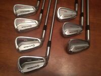 combo Taylormade TOUR PREFERRED 2014 mc et cb gaucher