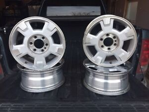 "17"" ford factory truck rims"