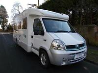 Lunar Premier 4 Berth 4 Traveling Seats Rear Fixed Bed Air Con Ref 9035