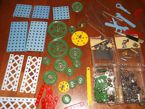 Vintage Antique CONSTRUCTO MECHANICAL SET
