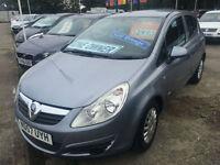 57 REG Vauxhall Corsa 1.0i 12v Life LOW MILES AND INSURANCE