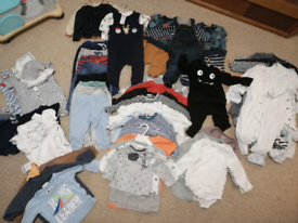 Baby boy clothes 6-12m bundle £50