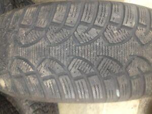 2 pneu hiver general tire 265-65-r17