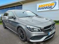 2018 Mercedes-Benz CLA CLASS 2.1 CLA220d AMG Line Night Edition (Plus) Shooting