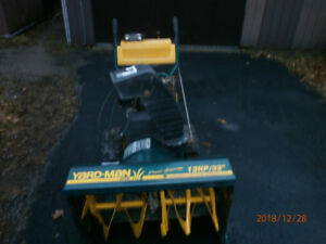 Snow Blowers for sale.