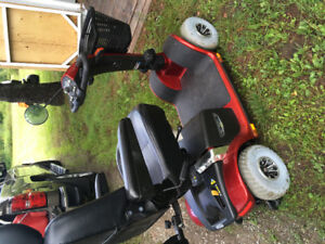 Two Scooters for sale price negotiable