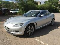 Mazda RX-8 1.3 ( 228bhp ) 2008 52K IN SILVER NICE CLEAN CAR DRIVES A1