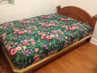 Bed Frame (Cadre de lit) + mattress