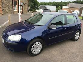 0707 Volkswagen Golf 1.4 ( 80ps ) S Blue 5 Door 73814mls MOT 12m