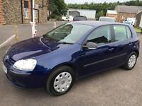 0707 Volkswagen Golf 1.4 ( 80ps ) S Blue 5 Door 73814mls MOT 12m