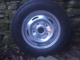 Transit van brand new wheel and top quality tyre