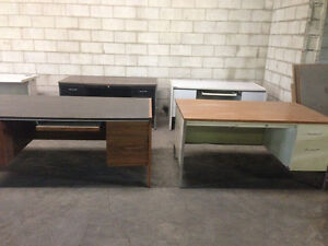 Office desks etc