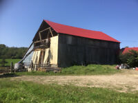BARN PAINTING, REPAIRS AND STEEL ROOFING