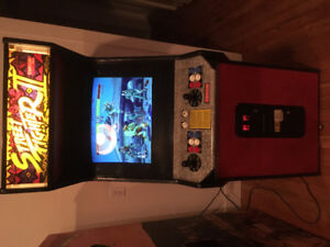 Mancave arcade game stuff
