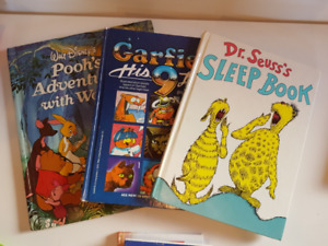 """""""Gently used"""" and """"never used"""" Children's books. Kids will love"""
