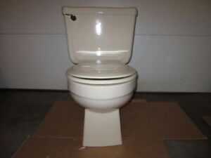 Bone Colored Toilet