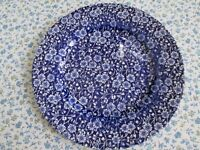 """1 Dinner Plate / 2 Luncheon Plates """"Churchill"""" Made in England"""
