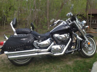 Get out and RIDE on this Suzuki Boulevard Touring Bike