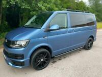 2019 Volkswagen Transporter T6 TDI 9 SEAT SHUTTLE SWB IN ACAPULCO BLUE - EURO SI
