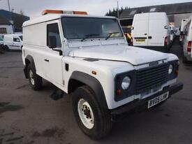 LAND ROVER DEFENDER 110 HARD-TOP TD5, White, Manual, Diesel, 2005