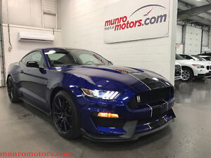 2016 Ford Mustang Shelby GT350 Tech Navigation Black Stripes