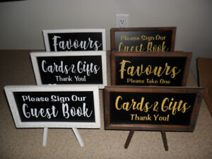 NEW Wooden Easel Wedding/Baby Shower/ Birthday Signs