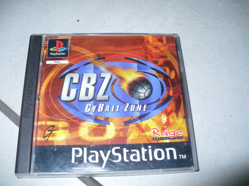 Gra CyBall Zone na Ps one