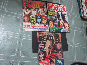 Welcome Back Beatles Magazines Dec. 1977   Parts 1-2-3...MINT