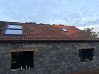 Grovesbury concrete roof tiles approx 600 ( garage roof extension )