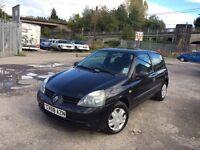 Renault Clio 1.2 petrol long mot