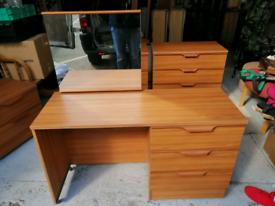 Teak dressing table