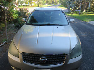 2005 Nissan Altima SL Automatic (Low KMS! Fully Loaded!) AS IS
