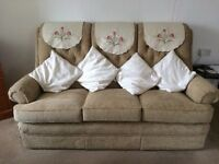 Parker Knoll 3 Seater sofa and chair