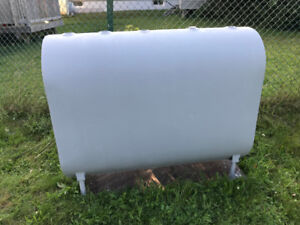 new outdoor furnace oil tank