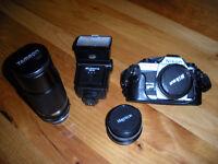 Nikon FG20 Film Camera & Accessories