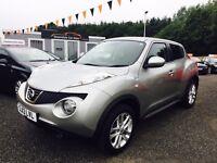2013 Nissan Juke, 12 Months Warranty, ZERO Deposit finance, 2 years FREE MOT