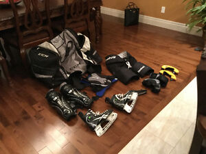 hockey gear for youth or small man