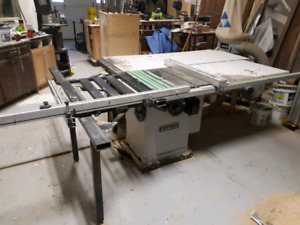 "DELTA CABINET/ TABLE SAW. 60"" fence!"